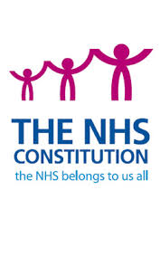 NHS Constitution cover